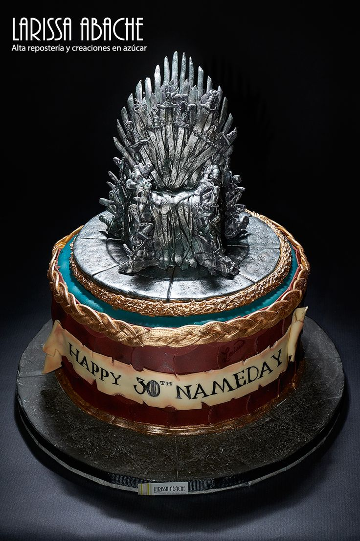 Game of Thrones Cake! Una super tarta de Juego de Tronos!