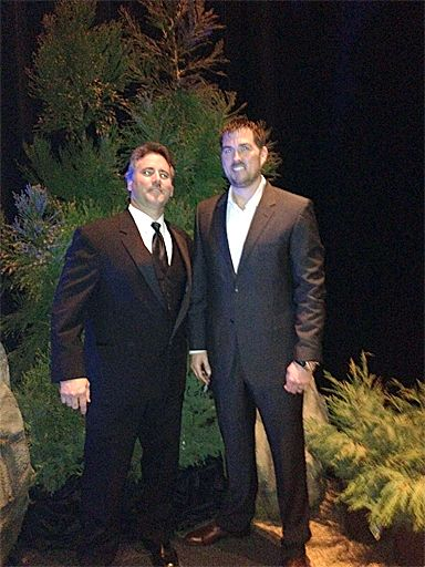 Mark Andol Owner Of The MadeInAmerica Store Thanking Marcus Luttrell From SEAL Team
