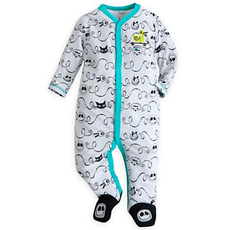 Jack Skellington Stretchie Sleeper for Baby This one's for @aflag 's beastie!