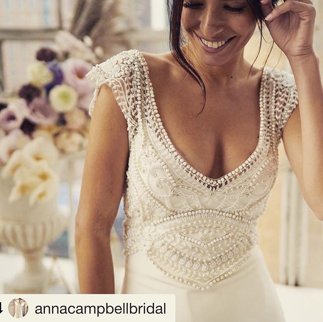 Anna Campbell 2019 Wedding Dresses: Details Of Sorrento, She Is Feminine And Flattering With