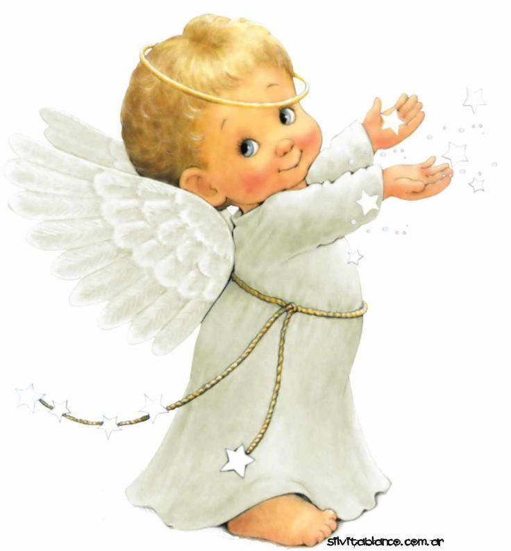 себе картинка ангелочек для печати человек
