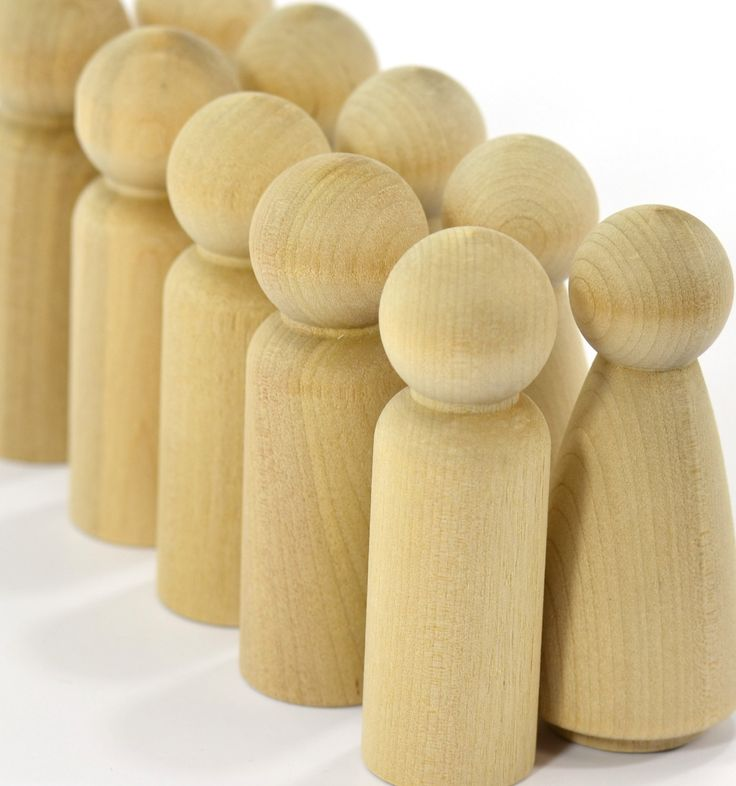 60 Sets (120-dolls) of Grandma and Grandpa Wooden Peg Dolls-Solid Hardwood Natural Unfinished High Quality Turnings-Ready for Paint or Stain by EarlyAmericanShop on Etsy