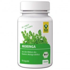 Bio Moringa Kapseln Nahrungsergänzung von Raab Vitalfood