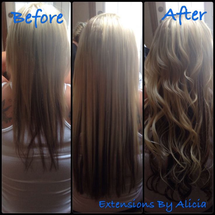 #beforeandafter #curls #extensions #extensionsbyalicia #fusion #gorgeous #hair #hotfusion #hairbyalicia #hairextensions #hairofinstagram #hairtransformation #hairextensionsbyalicia #hilights #length #longhair #longhairdontcare #multitoned #perfecthair #remy #remyhair #travelingstylist  before and after  Instagram: @exrensionsbyalicia