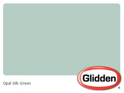 Opal Silk Green Paint Color Glidden Colors For The Home Pinterest White And Painting