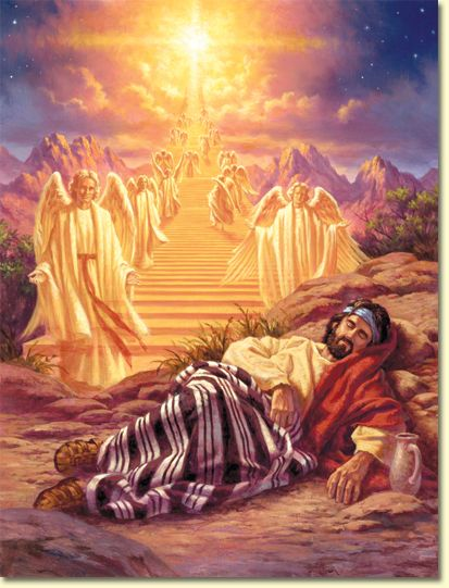 Visions of heaven in pictures | Genesis Chapter 28: Jacob's Vision of the Ladder
