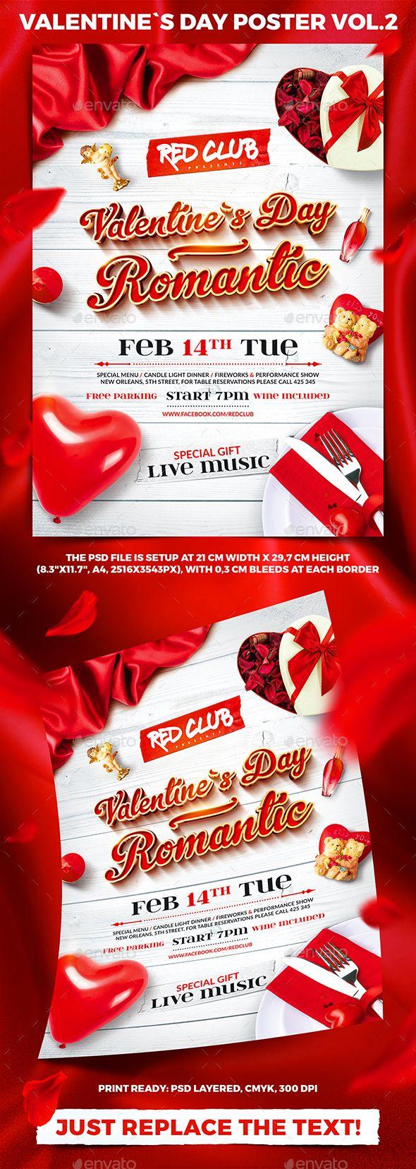 1410 besten Valentine Flyer Template Bilder auf Pinterest | Flyer ...