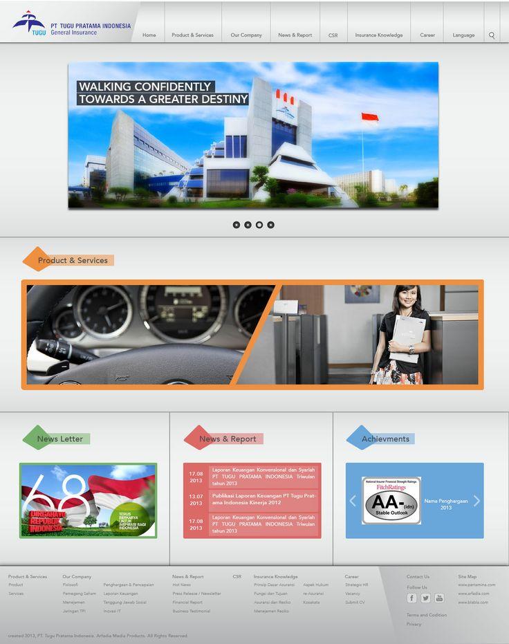 Website Corporate - PT. Tugu Pratama Indonesia ver 1.0 - http://www.tugu.com #WebDesign #WebDevelopment #PT_TuguPratamaIndonesia #GeneralInsurance #Jasa_Pembuatan_Website #WebCorporate