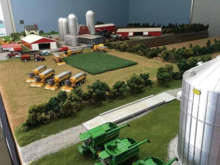 1/64 Model Farm Display