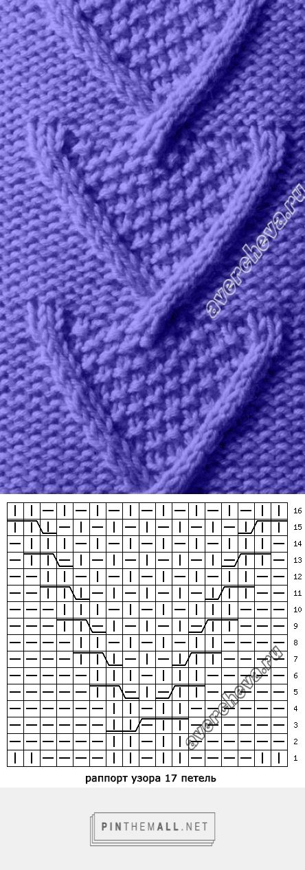 Knit Cable Stitch Pinterest : 453 best images about ** Knitting / Crochet Stitches ** on Pinterest The st...