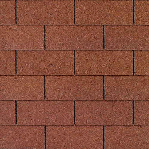 Russet Red shingles from GAF