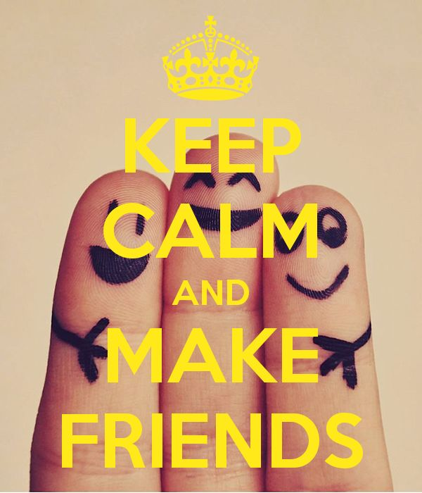 Keep-calm-and-make-friends-222 by MissVeronici
