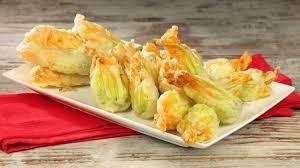 Fiori di zucca fritti (flores de calabacín rebozadas)