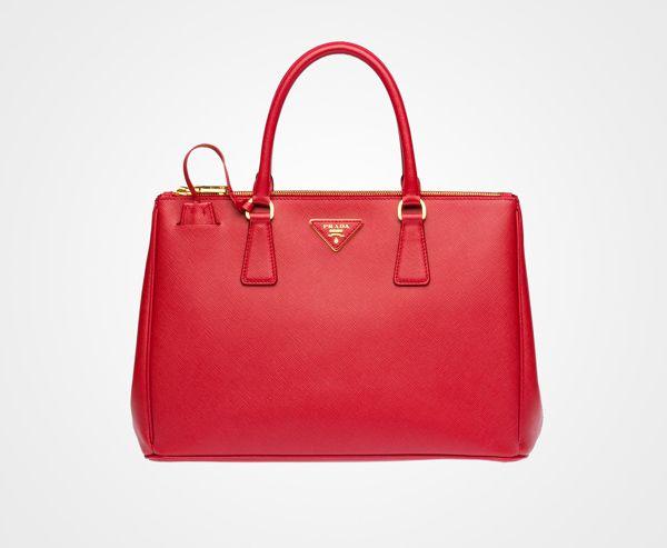 Red Prada Tote Bag