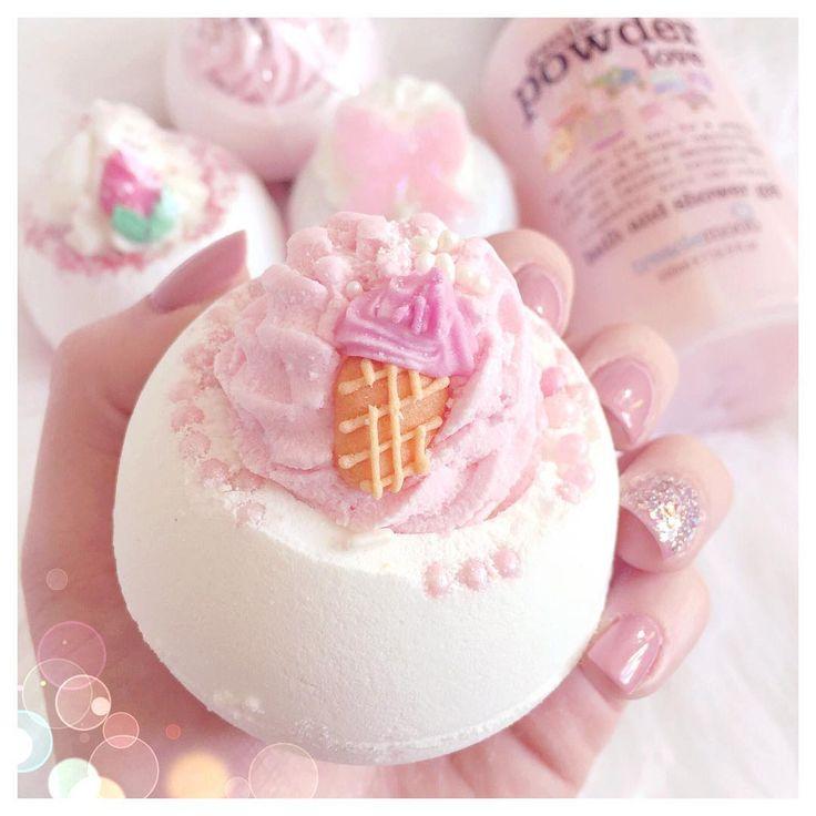 Bomb Cosmetics, Ice Cream Queen Bath Bomb lovecatherine.co.uk Instagram catherine.mw xo