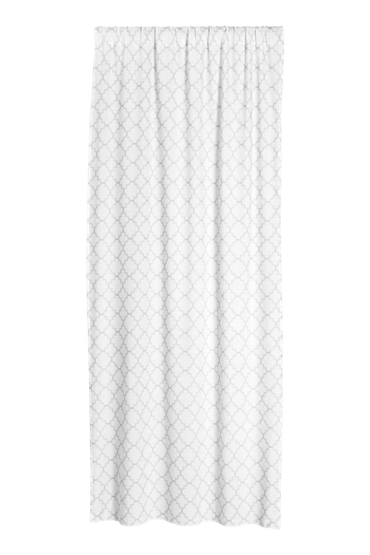 Curtain lengths puddle - 2 Pack Printed Curtain Lengths