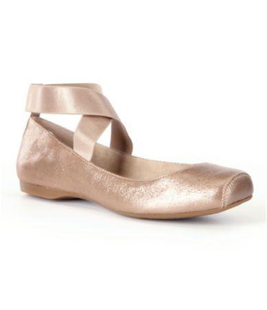 Jessica Simpson Mandalaye Strappy Square-Toe Ballet Flats   Dillards