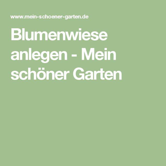 Blumenwiese anlegen - Mein schöner Garten