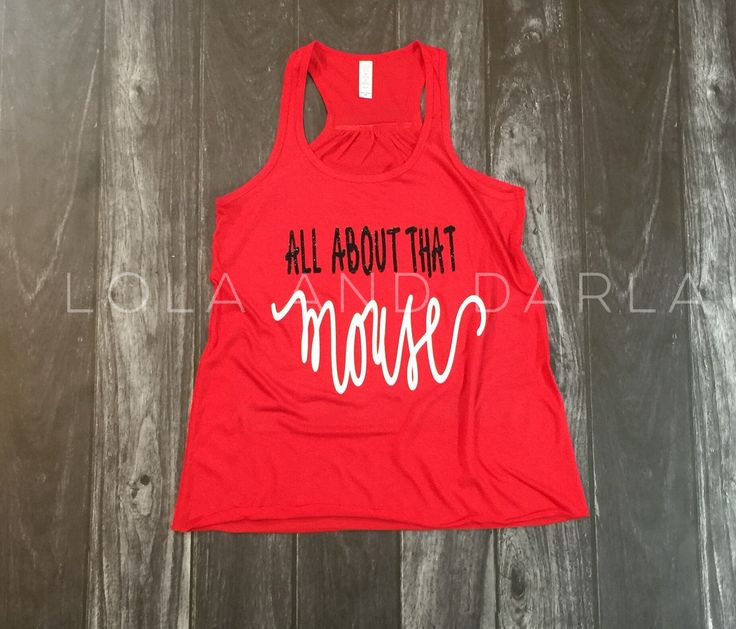 All about that Mouse Women's Tank Top