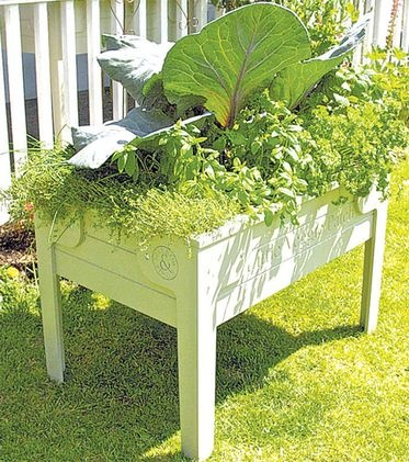 Movable Small Raised Garden