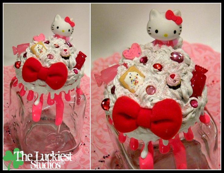 Hello Kitty Decoden Jar by Louness26.deviantart.com