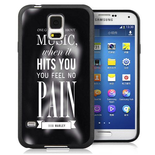 Музыка, Когда она Попадает вам НУЖНО боли Котировки Чехлы Телефона Для Samsung S3 S4 S5 S6 S7 края Примечание 2 Примечание 3 Примечание 4 Примечание 5 крышка