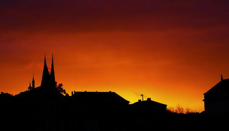 Sunrise Prague by Martin Gallie on 500px