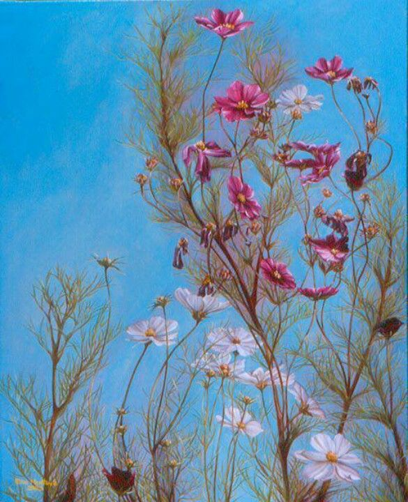 Flowered face ~ OPTICAL ILLUSION!