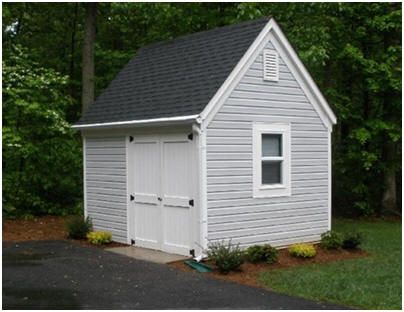 10'x12' Garden Tool and Lawn Tractor Storage Shed Plans ...