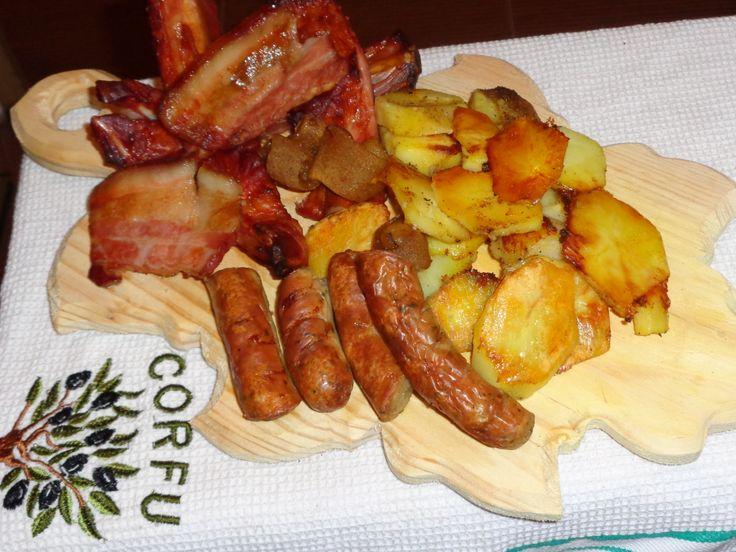 Peasant dish Platou taranesc