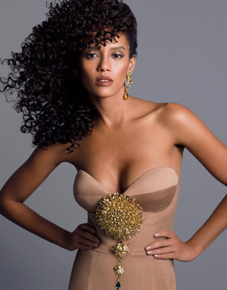 Brazilian actress Tais Araujo