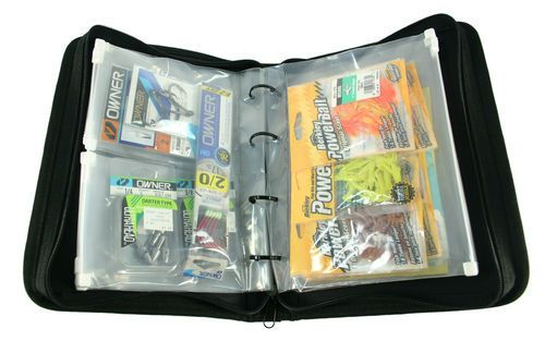 For those who watch fishing shows you know that some of the pro's have binders upon binders full of plastic baits. I priced these kits at Walmart and outfitters and small ones cost up to $30.00. Here's an easy Instructable on how to make these from things around the house. If you don't have the plastic cover pages go to your local dollar store and purchase them cheap.