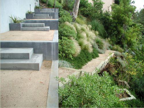 hillside xeriscape