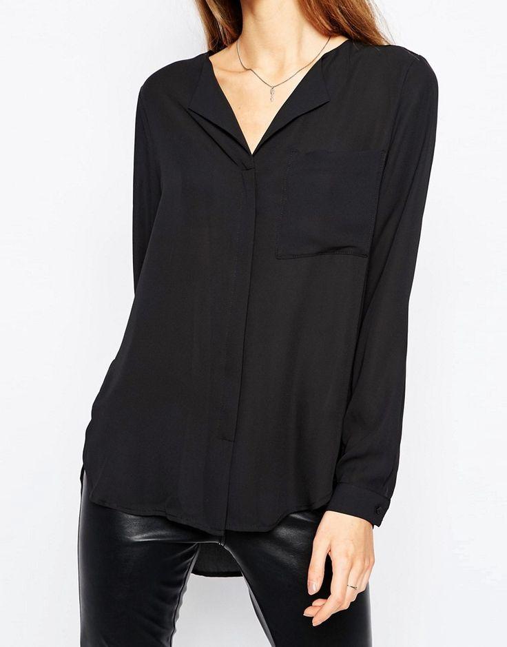 Camisa negra Dynella de Selected