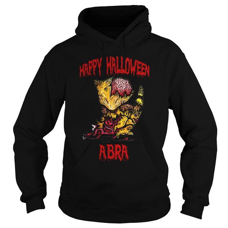HAPPY HALLOWEEN  ABRA