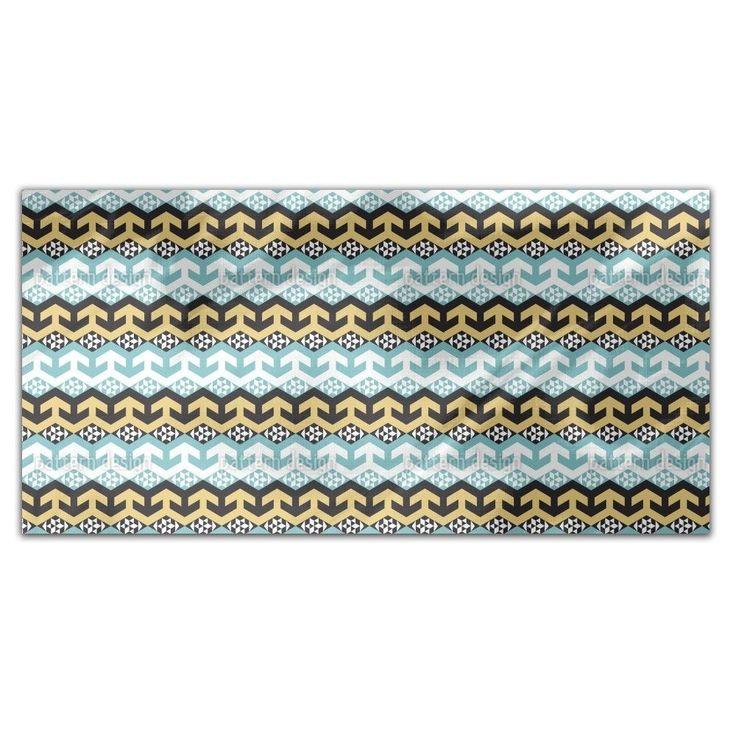 Uneekee Arabic Chevron Variation Rectangle Tablecloth