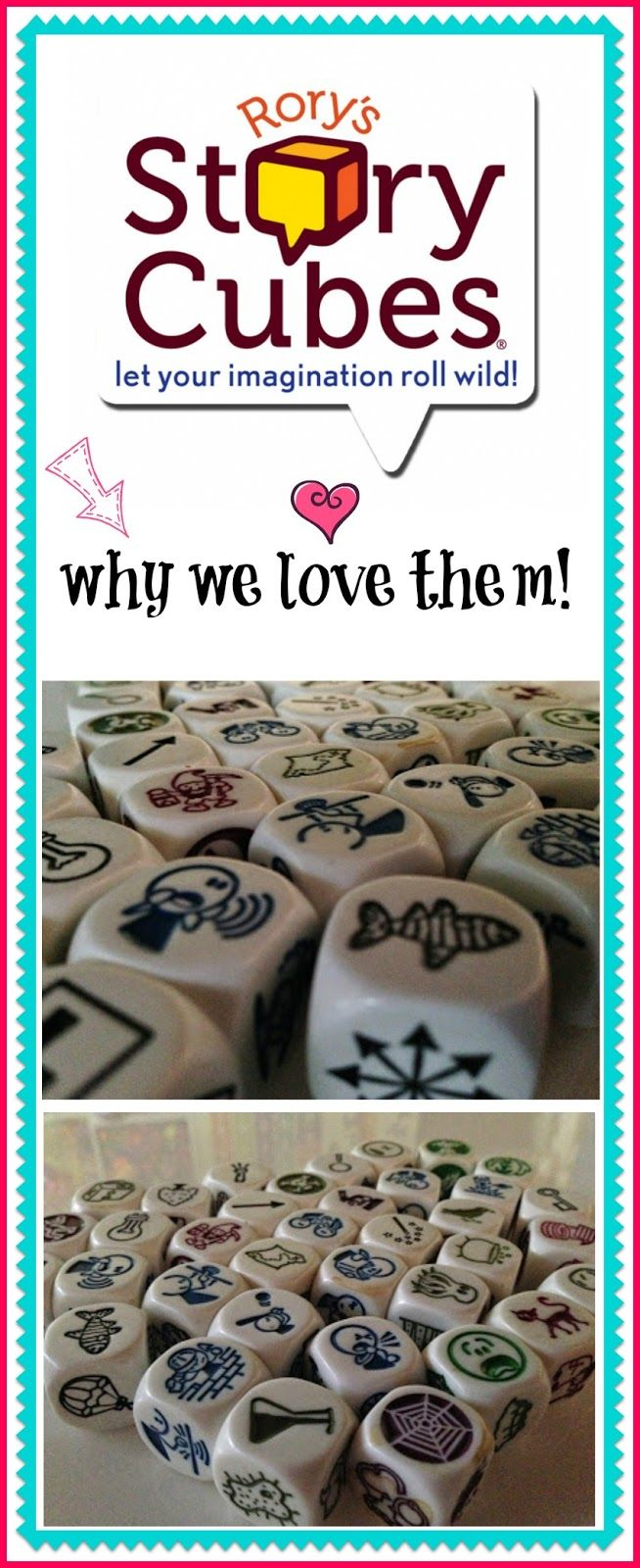Rory Story Cubes and why we love them | Epic Childhood