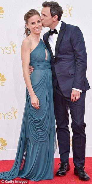 Happy couples: Matt Le Blanc and girlfriend Andrea Anders were amoing the attendees, while...