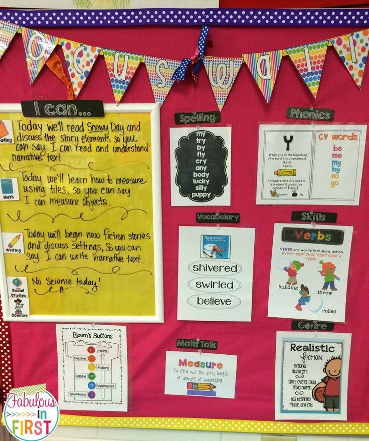 Mrs. Wills Kindergarten: Focus Wall: Focus! Deedee! Focus!
