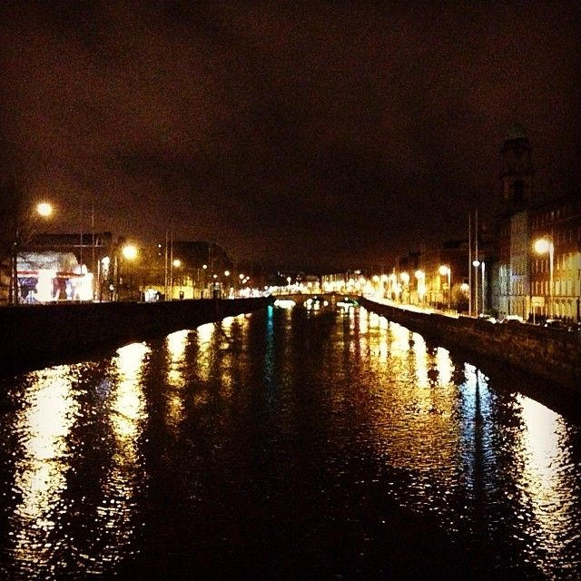 #Dublin by night