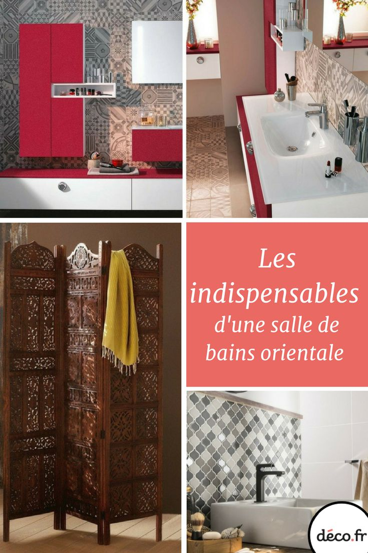 17 best images about salle de bain bathroom on pinterest belle nature and murals Salle de bain orientale