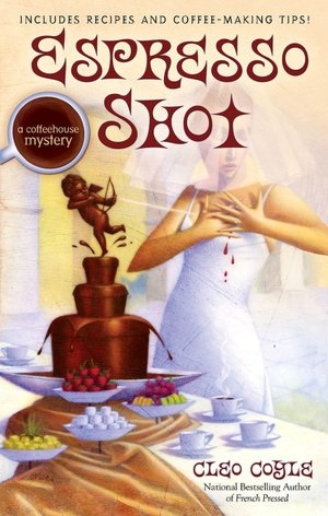 Espresso Shot written by Cleo Coyle in PB at the Chippewa Falls Pubic Library