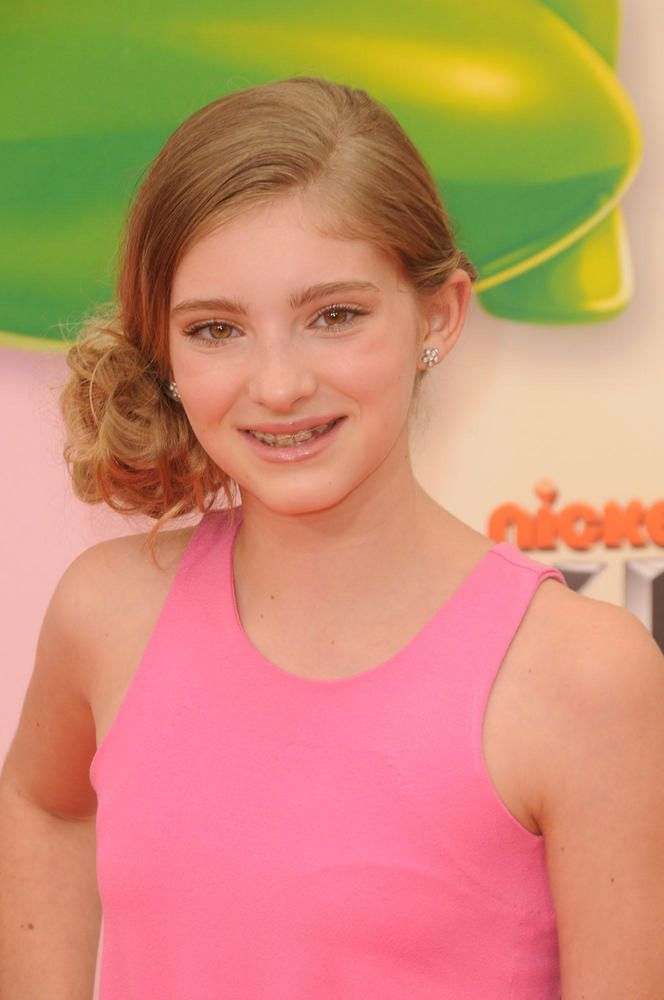 Hunger Games Star Willow Shields (who plays Katniss' sister!) rocks braces on the red carpet