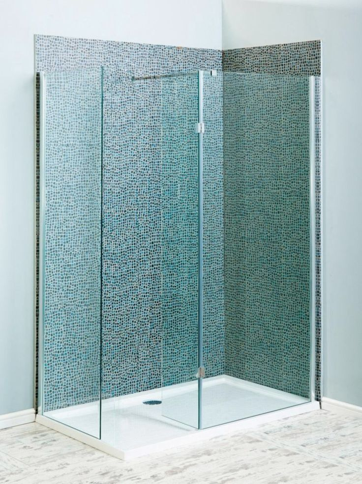 Milano Beka Recess 8mm Walk In Shower Enclosure 1200x900