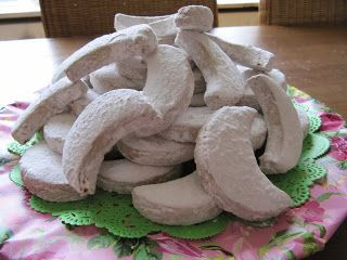 Kourabides- Griekse koekjes