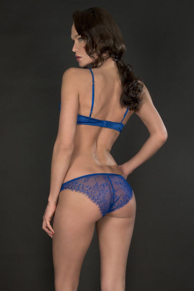 Maison close villa satine blue panty naughty knickers for Maison close