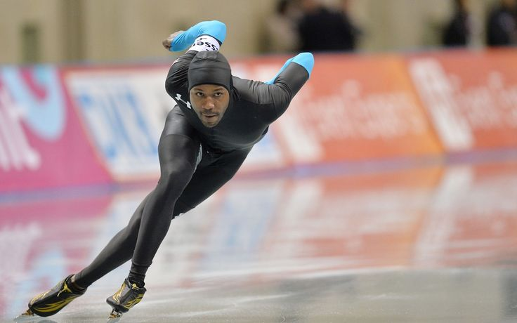 Black Ice Skater-Ebony Magazine.  Understated Prejudice/stereotypes in speed skating.  Observation: by default there is prejudice in the figure skating world if you are a black man figure skating.  You may be the only one doing that at a high level at any given time.