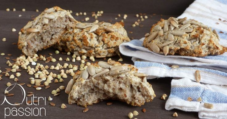 """Die LECKERSTEN glutenfreien Brötchen EVER!! Buchweizen gekeimt mit Reismehl - VEGAN! Sogar die """"normal-essenden"""" waren begeistert!"""