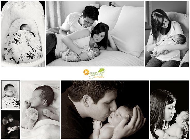 Black and White Newborn Photography: Baby Photographers