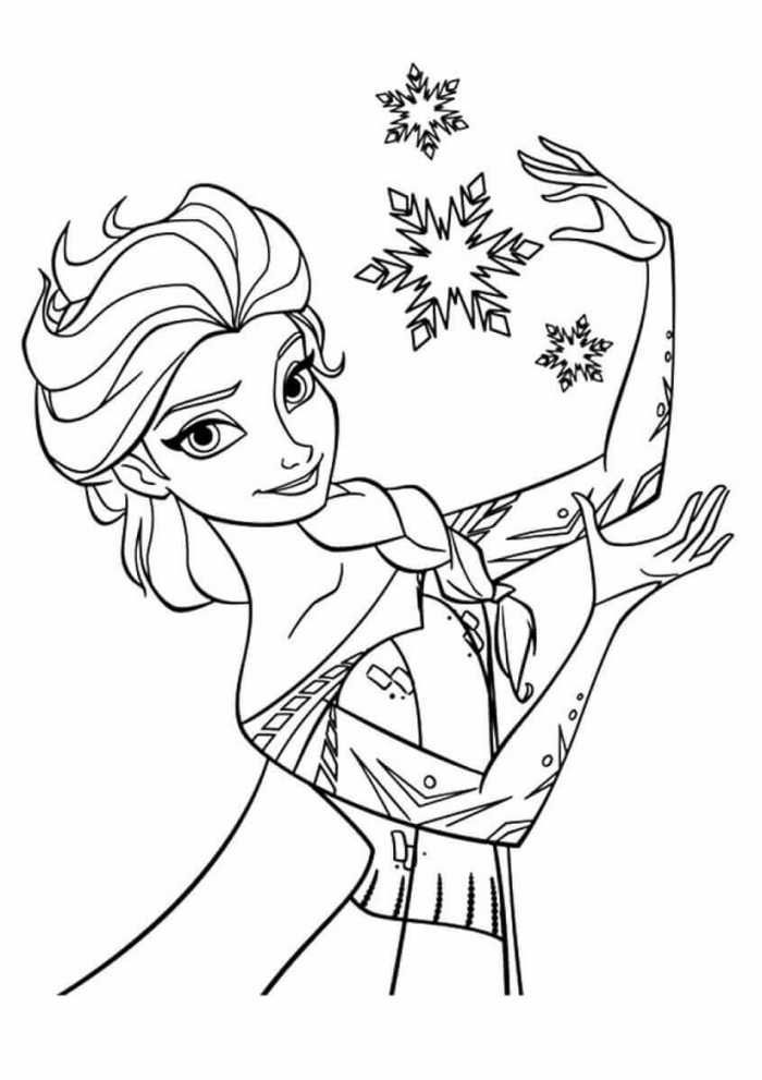 Princess Coloring Pages Elsa From Frozen Elsa Coloring Pages Frozen Coloring Pages Princess Coloring Pages